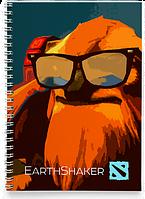 Блокнот Тетрадь EarthShaker, Dota 2, #3 (Дота 2, два)