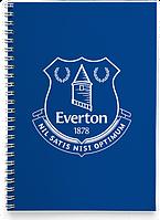 Блокнот Тетрадь Everton, Premier League (Футбол)