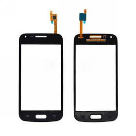 Дисплей для мобильного телефона Microsoft Lumia 435, черный, с тачскрином, с рамой, ORIG