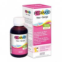 Сироп  для детей, для носа и горла: очищение и снятие воспаления  Pediakid ,125мл