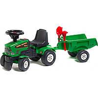 Детский трактор каталка с прицепом BABY FARM MASTER - 1081C