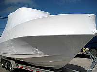 Упаковка катера для транспортировки