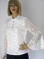 Блузка гипюровая белая Miss Point