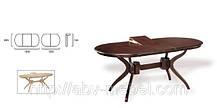 Стол обеденный Доминика раскладной 1500 венге (Domini TM), фото 3