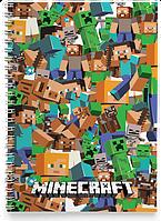 Блокнот Тетрадь Minecraft 2 (Игра)