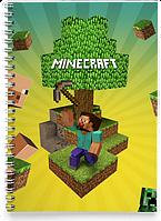 Блокнот Тетрадь Minecraft 1 (Игра)