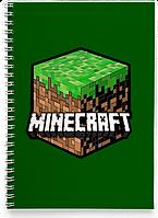 Блокнот Тетрадь Minecraft 3 (Игра)