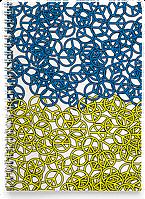 Блокнот Тетрадь Peace (Чашка с украинской символикой,)