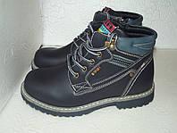 Демисезонные ботинки для мальчика, р. 33 - 35