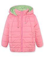 Куртка для девочки, розовая, р.98-116