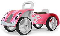Машинка каталка деревянная Junior   Milly Mally Польша розовая