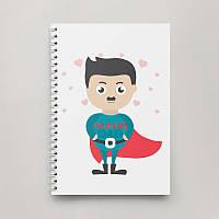Блокнот Тетрадь Super Dad