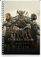 Блокнот Тетрадь The Elder Scrolls 5 Skyrim, №1 (Игра)