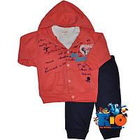 """Яркий детский костюм-тройка """"Tender Minnie"""" , для девочек от 6-9-12 мес"""