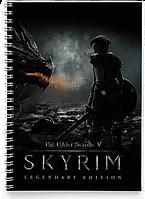 Блокнот Тетрадь The Elder Scrolls 5 Skyrim, №4 (Игра)