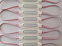 Светодиодный модуль SW Power кластер шесть светодиодов SMD 2835 з линзой 1.6 Вт 12 вольт