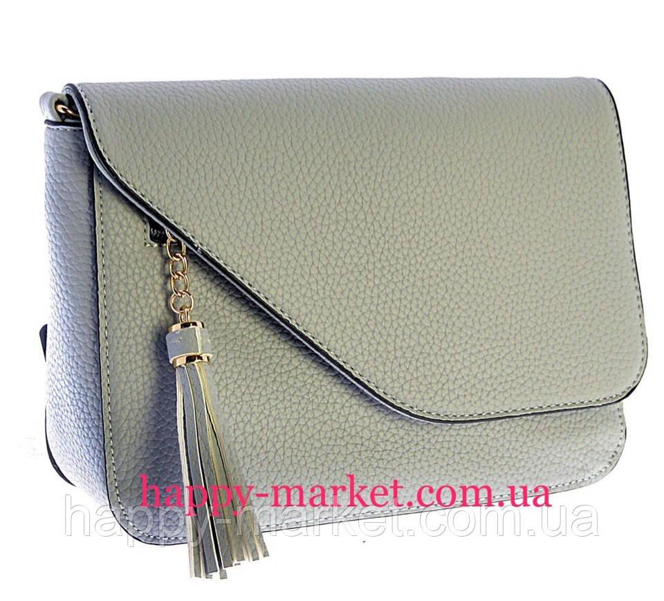 6847f5b301a4 Женский клатч модные сумки Новинка 2017-2018 года 16860-1 Серый - Интернет-