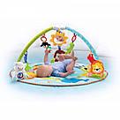 Детский музыкальный развивающий коврик с дугами Умный малыш, фото 2