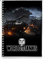 Блокнот Тетрадь World Of Tanks 9 (Танки, танчики, WOT)