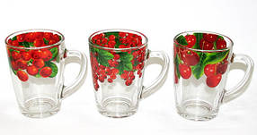 Чашки скляні