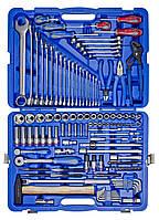 """Набор инструментов 128 ед. 1/4""""+1/2"""" KINGTONY 7528MR"""