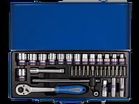 Набор головок 1/2   8-32 мм, 33 предмета KING TONY 4535MR01