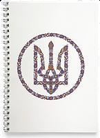 Блокнот Тетрадь Національний Герб (Чашка с украинской символикой,)