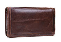 Сумка барсетка MS 6084 коричневая