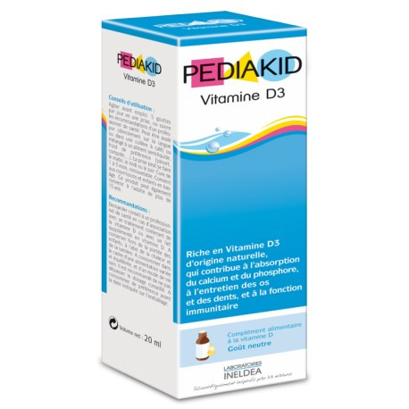 Витамин D3  для детей Pediakid