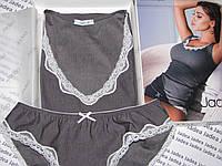 Комплект нижнего белья, майка, трусики, трусики-слип, Jadea Chic 4628, Италия