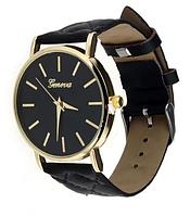 Женские наручные часы Geneva (black)
