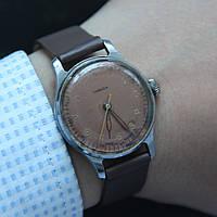 Победа винтажные советские наручные механические часы СССР, фото 1
