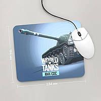 Коврик для мыши 234x194 AMX CDC, World Of Tanks, №2 (амх, Танки, танчики, WOT)