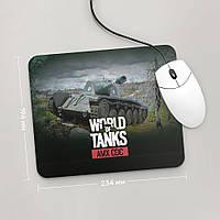 Коврик для мыши 234x194 AMX CDC, World Of Tanks, №3 (амх, Танки, танчики, WOT)