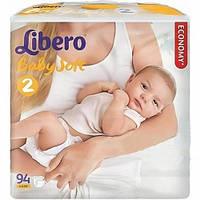 Подгузники детские Libero Newborn (2), 3-6 кг, 94 шт.