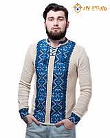Мужская вязаная рубашка Влад ультра, фото 1