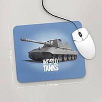 Коврик для мыши 234x194 E100, World Of Tanks, №2 (Танки, танчики, WOT)