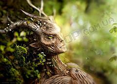 Картина 60х40см Скайрим Дерево