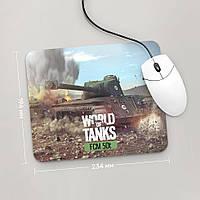 Коврик для мыши 234x194 FCM 50t, World Of Tanks 1 (фцм, Танки, танчики, WOT)