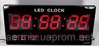 Электронные настенные часы CW 4600, большие светодиодные электронные часы, часы многофункциональные