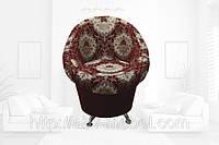 Кресло Тюльпан на хромированных ножках (Катунь ТМ)