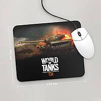 Коврик для мыши 234x194 T34, World Of Tanks 1 (Танки, танчики, WOT)