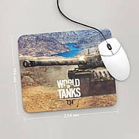 Коврик для мыши 234x194 T34, World Of Tanks 2 (Танки, танчики, WOT)