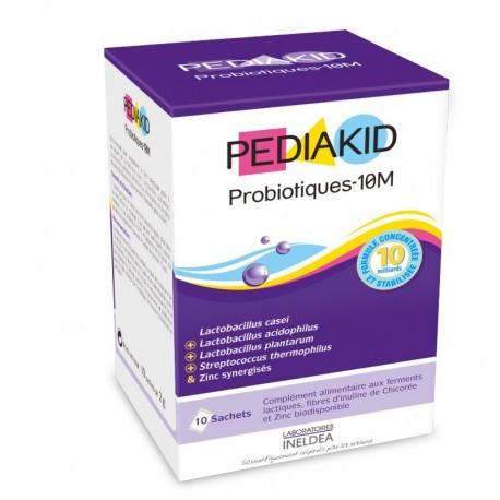 Пробіотики-10М для дітей ,відновлення мікрофлори кишечника Pediakid