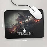 Коврик для мыши 234x194 World Of Tanks 1 (Танки, танчики, WOT)