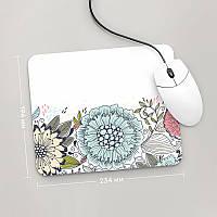 Коврик для мыши 234x194 Цветы №7 (растения, цветы, флора, узоры)