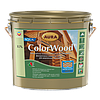 Декоративно-защитное средство для древесины Aura ColorWood Aqua (орех) 2,7л