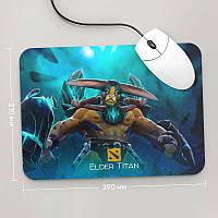 Коврик для мыши 290x210 Elder Titan, Dota 2, #1 (элдер титан, Дота 2, два)