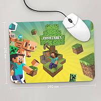 Коврик для мыши 290x210 Minecraft 1 (Игра)