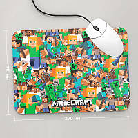 Коврик для мыши 290x210 Minecraft 2 (Игра)